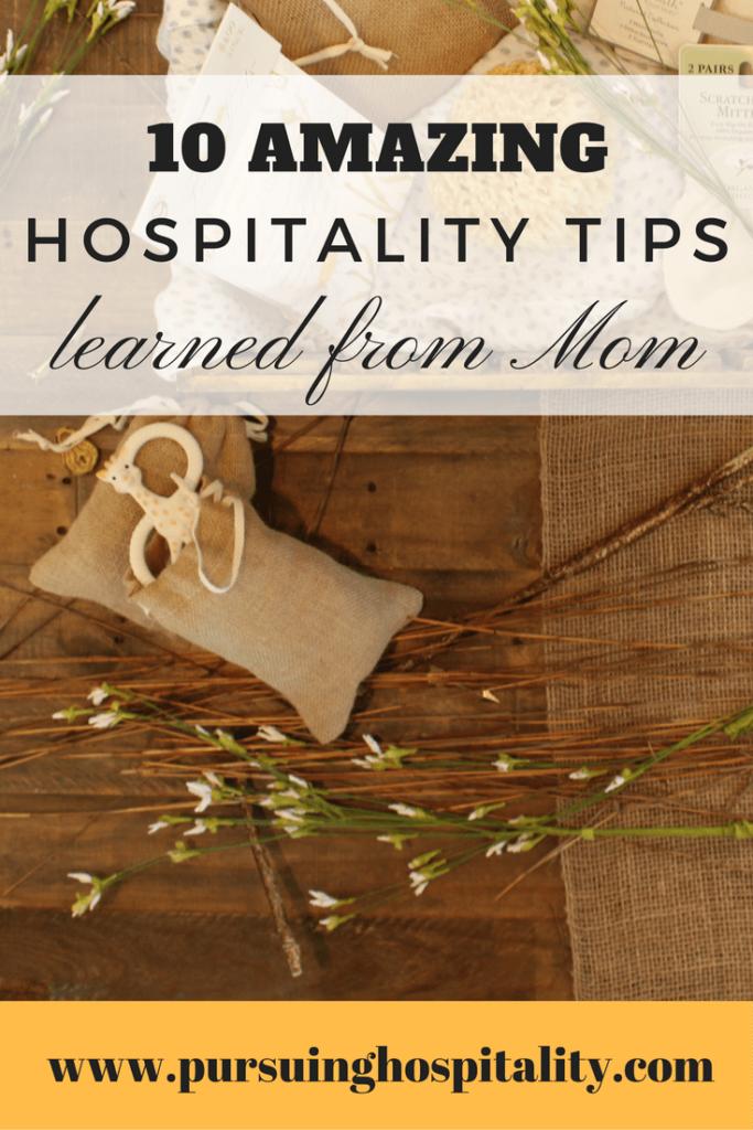 10 Amazing Hospitality Tips