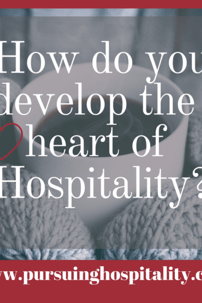 Developing the heart of hospitality