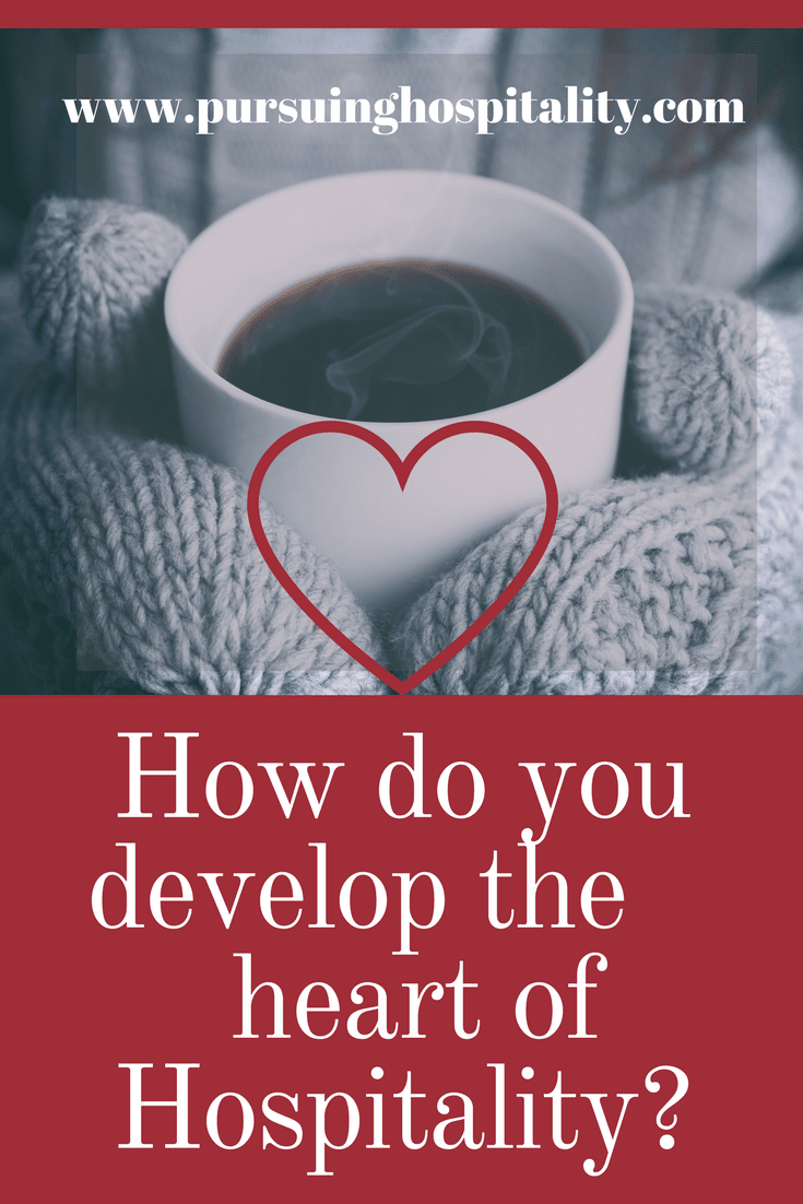 How do you develop the heart of hospitality