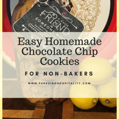 Easy Homemade Chocolate Chip Cookies for Non-Bakers