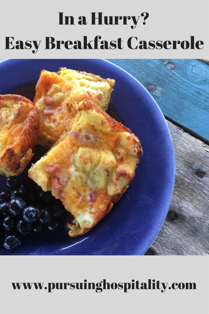 Pinterest Easy Breakfast Casserole