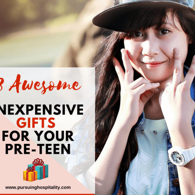 8 Awesome Inexpensive Gifts for Your Pre-Teen Girl
