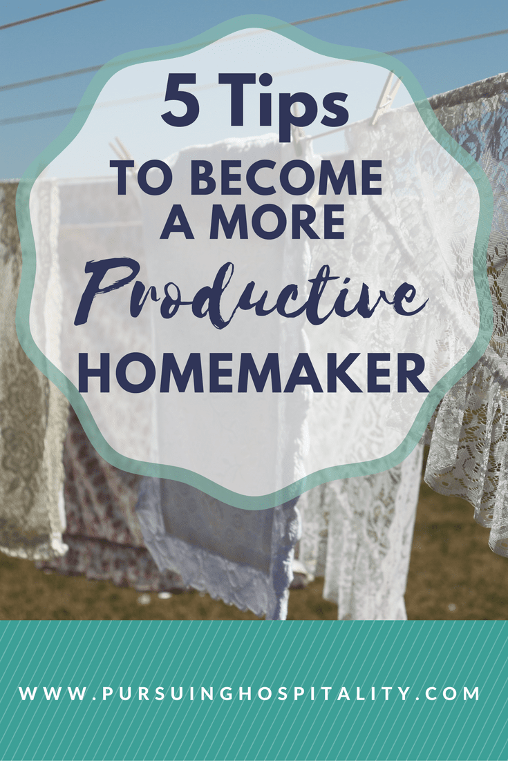 More Productive Homemaker