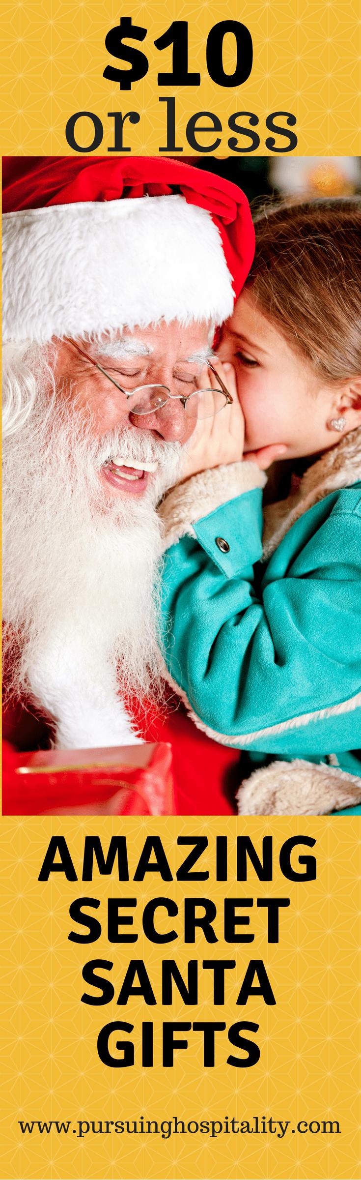 Amazing Secret Santa Gift Ideas
