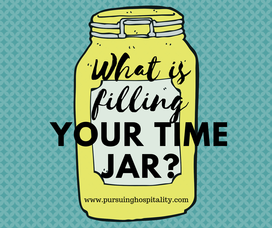 What is filling your time jar?