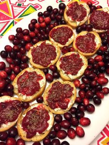 cranberry bruschetta_recipe