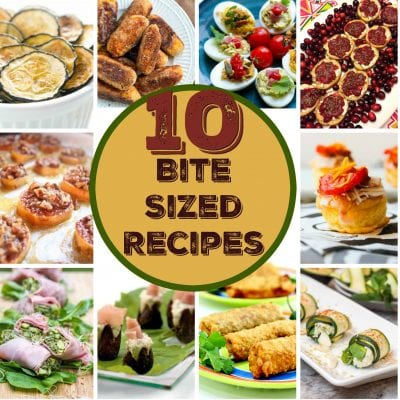 10 Bite Size Recipes For Your Gatherings
