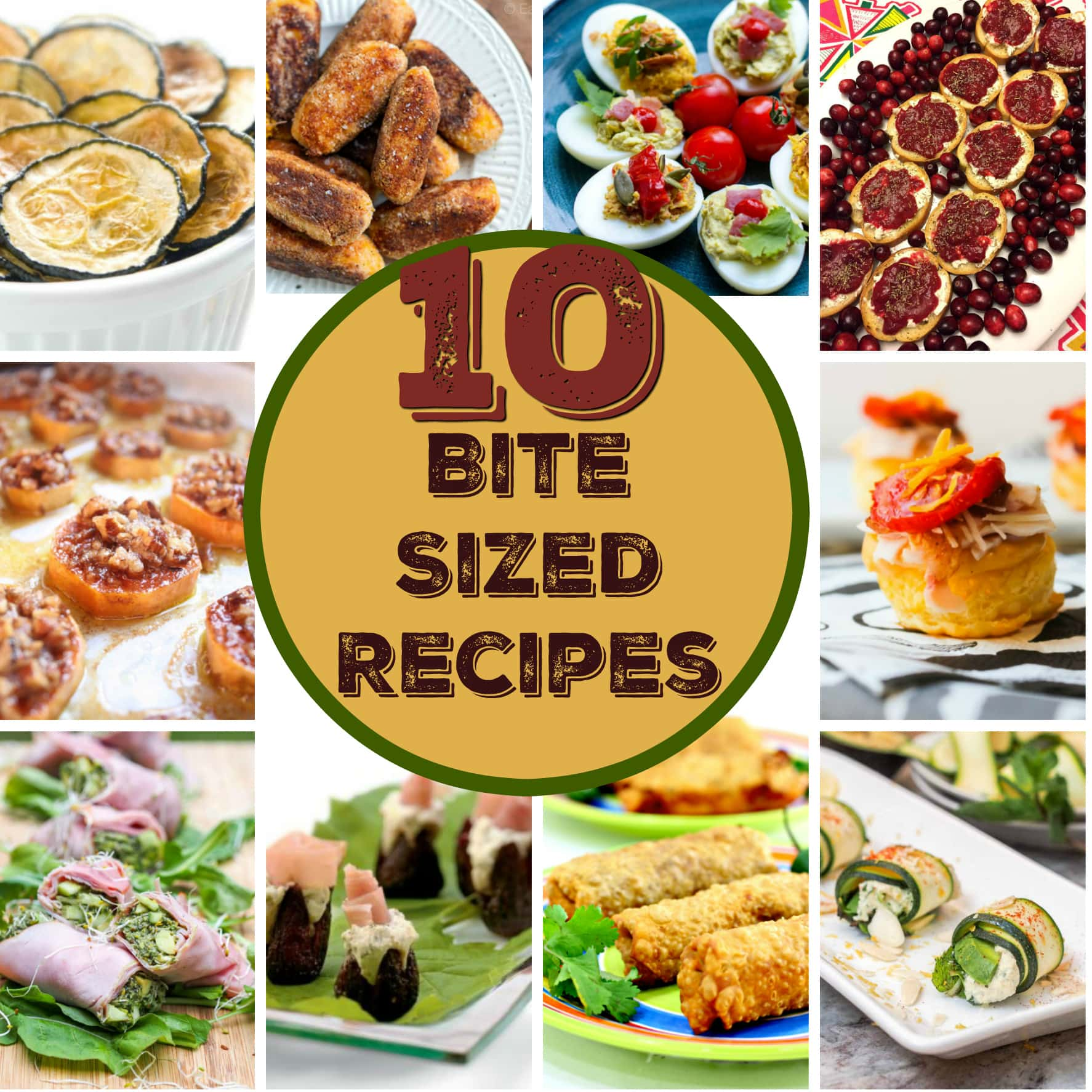 10 bite size recipes