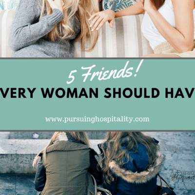 5 Friends Every Woman Should Have