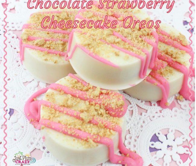 Chocolate-Strawberry-Cheesecake-Oreos-Recipe