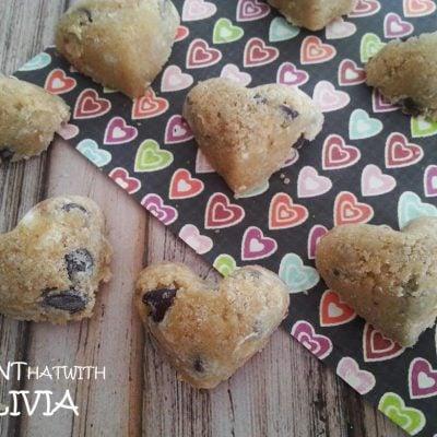 Cookie Dough Hearts Recipe