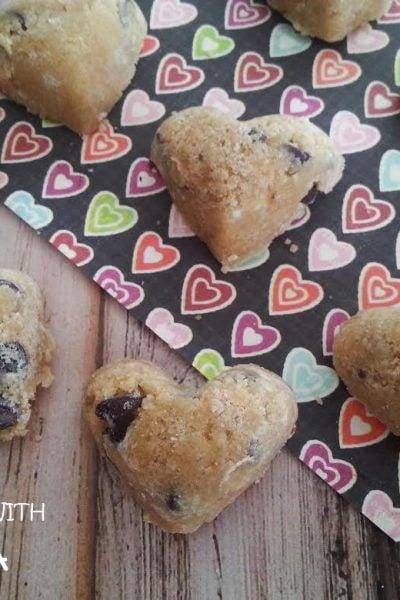Cookie Dough Hearts
