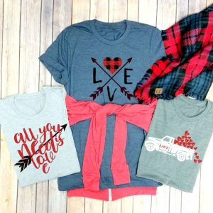 Cute Valentines day t-shirts Truck