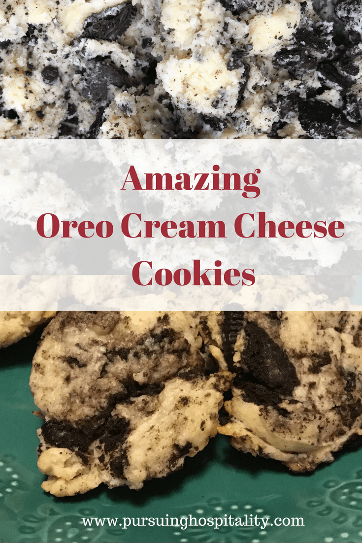 Amazing Oreo Cheesecake Cookies