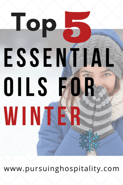 Top 5 Essential Oils for Winter