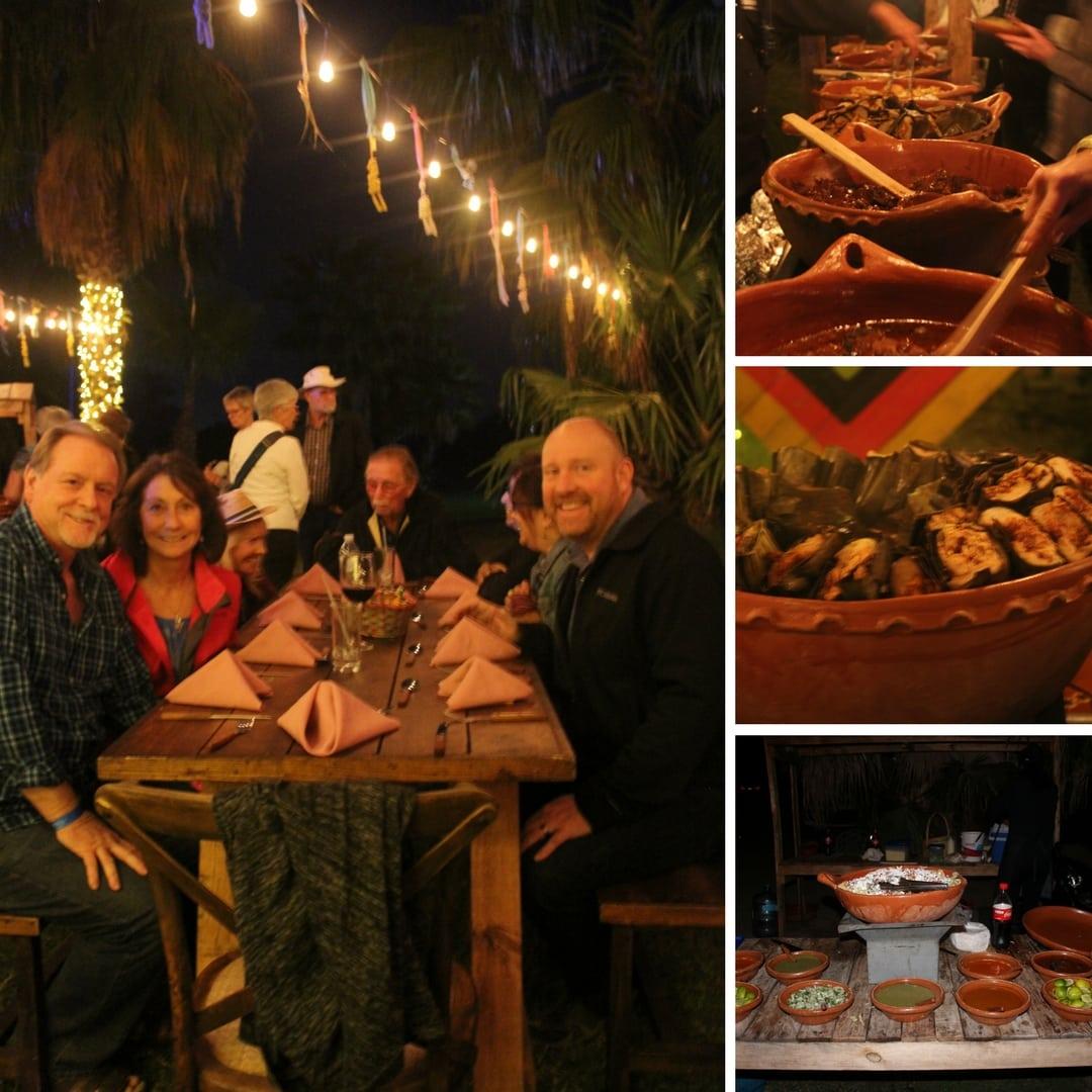 The Wirikuta Dinner Show Dinner