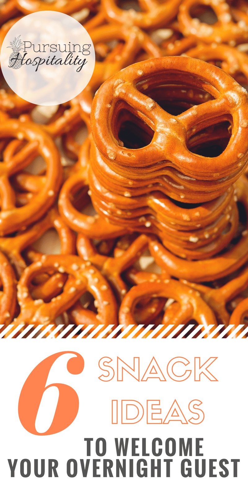 6 Snack ideas to welcome your overnight guest