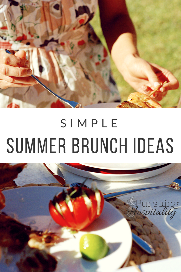 Simple Summer Brunch Ideas