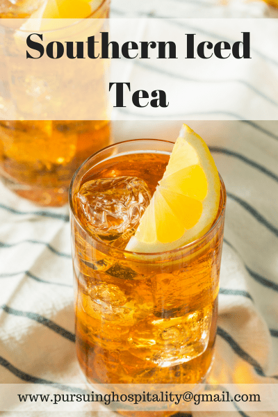 Sipping Southern Iced Tea with Friends Plus Sweet Tea Recipe