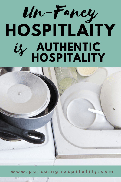 Un-Fancy Hospitality is Authentic Hospitality