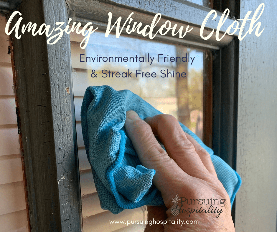 Microfiber Window Cloth