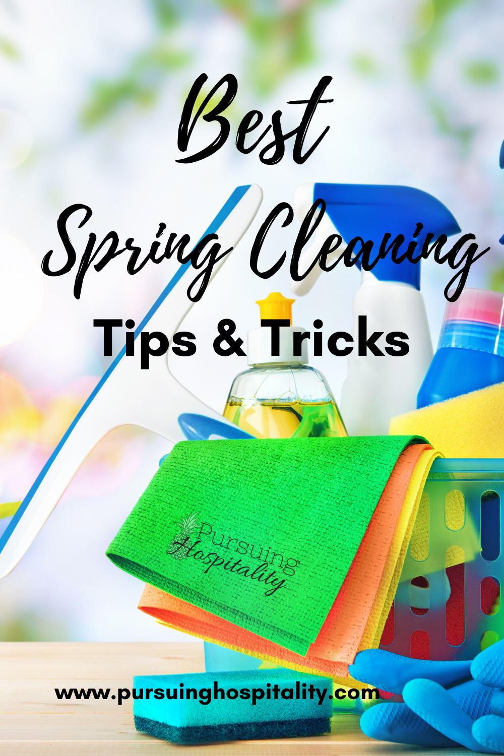 Best spring Cleaning Tips & Tricks