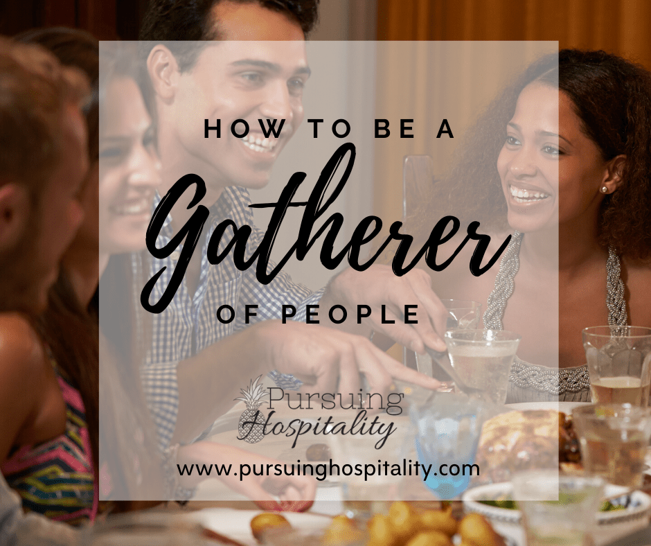 How to gather people together