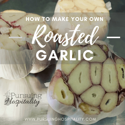 How to make your own roasted garlic