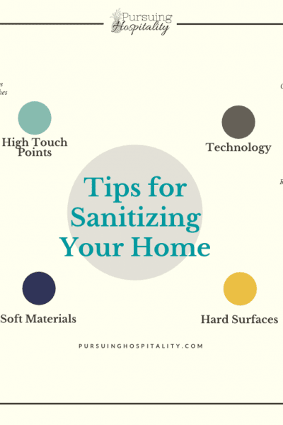 Sanitizing Your home