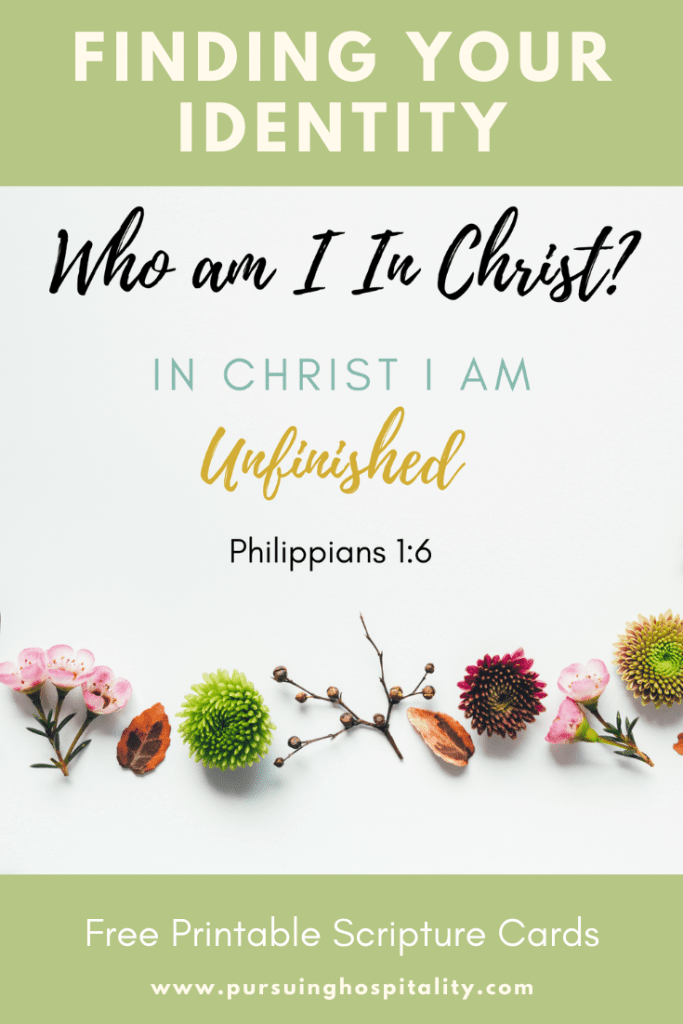 Who am I in Christ