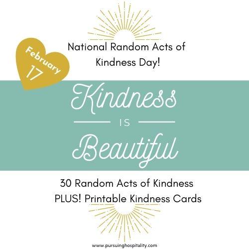 30 Random Acts of Kindness Ideas
